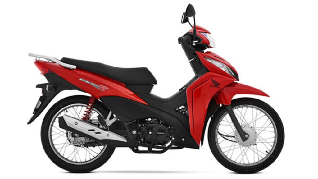 Honda Wave 110 roja