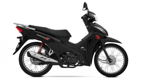 Honda Wave 110s negra