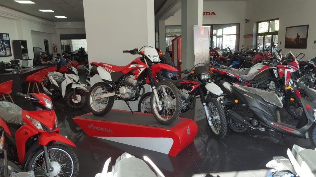 concesionario de motos honda