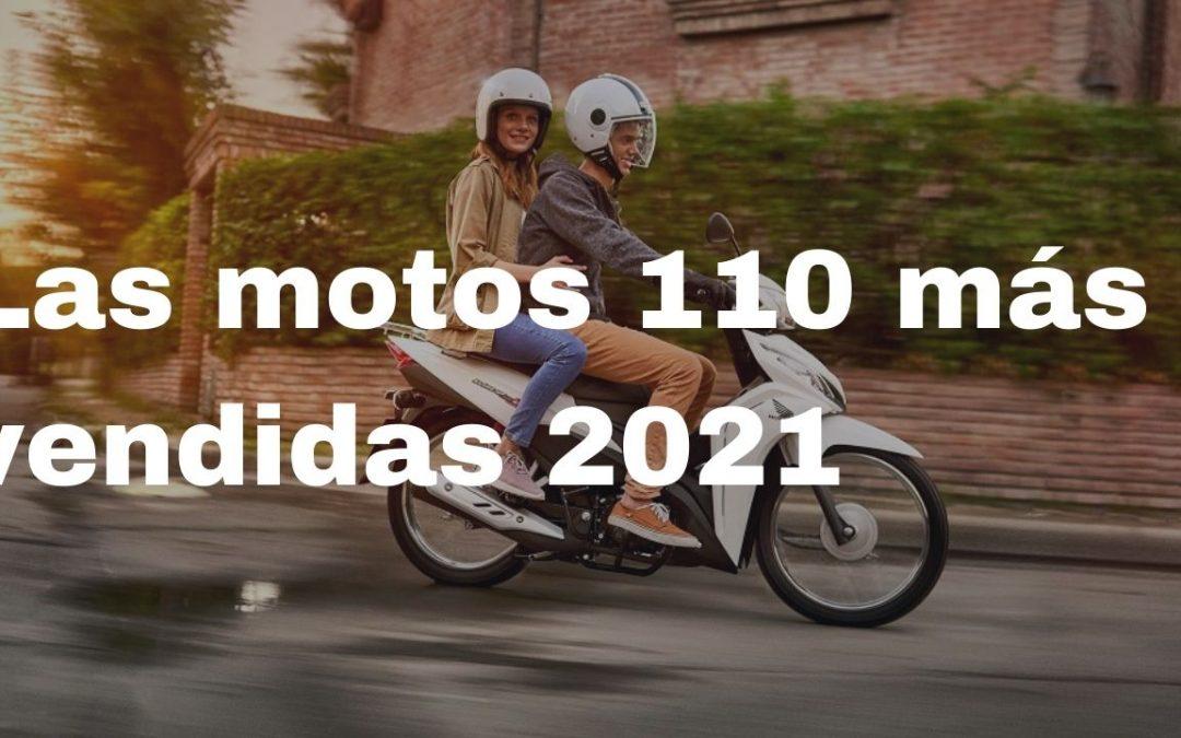 Cuales son las motos 110 CUB más vendidas con ficha tecnica